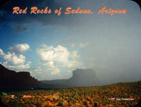 Thunderstorm in the Red Rocks of Sedona