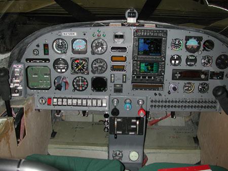 composite kit plane design - instrument panels