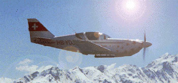 Experimental aiarcraft Glasair