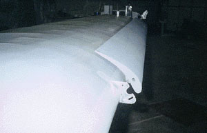 Stingray wing section with slats